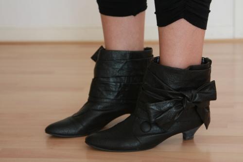 boots noeud harajuku