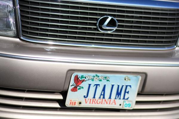 plaque car