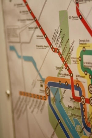 map metro washington