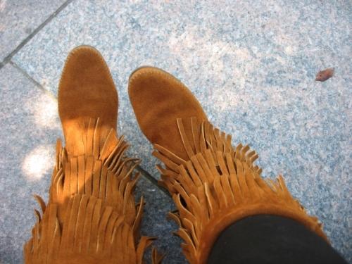 boots minnetonkas