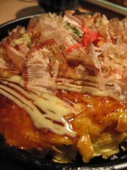 okonomiyaki porc kimchi
