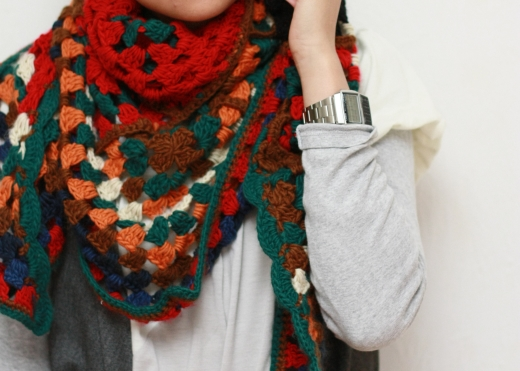 foulard zara