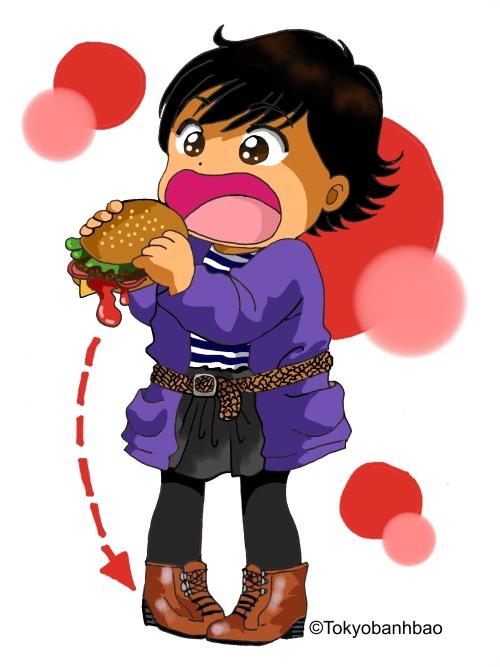tokyobibi burger crime