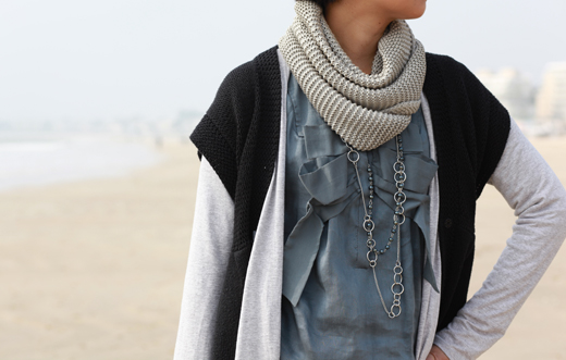 robe sandro plage