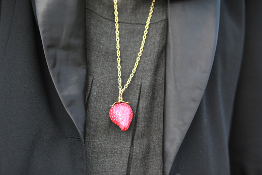 collier fraise