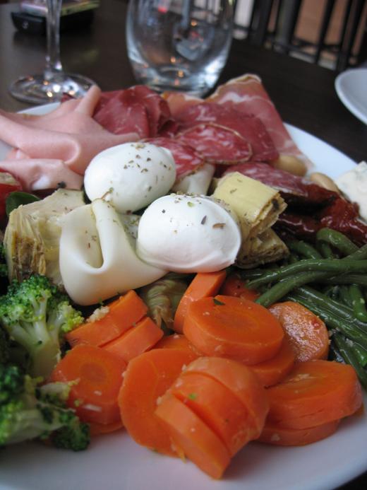 assiette antipastis