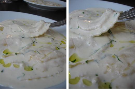 ravioles truffe blanche