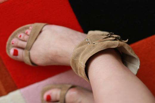 guetre sandales zara