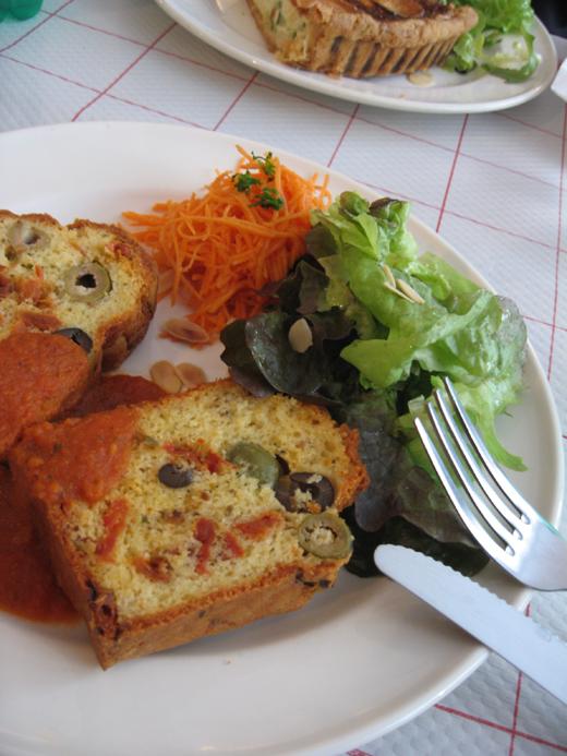 cake tomates confites 2 olives