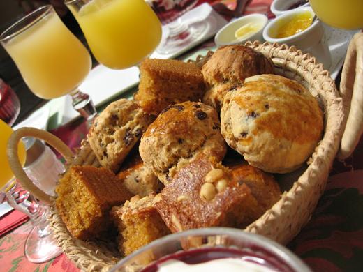 scones muffins