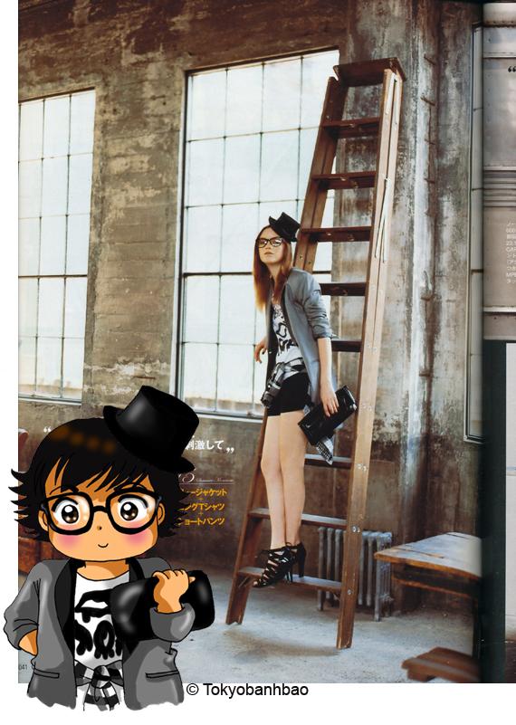 tokyobibi magazine Gisele