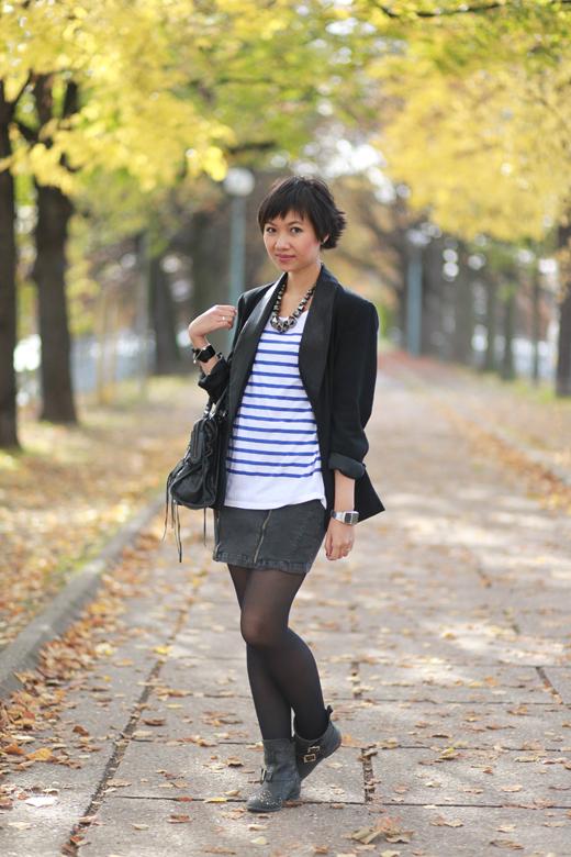 jupe zippée Zara