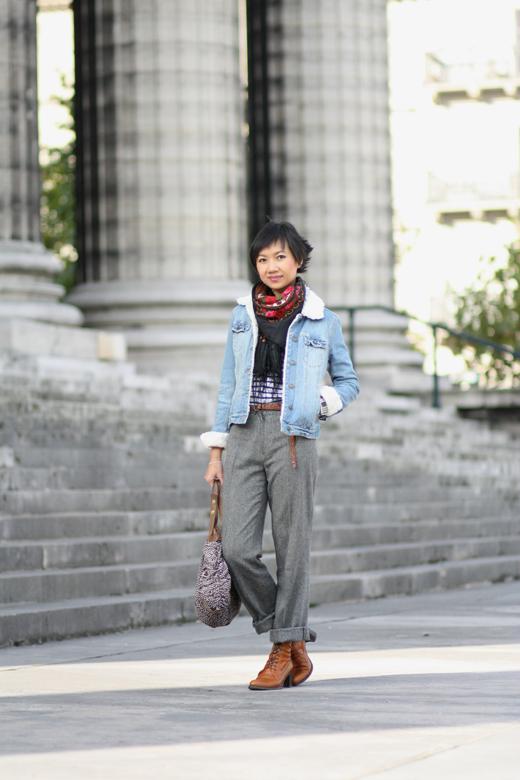 pantalon zara vintage
