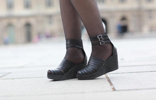 Sandales Fermées Talons