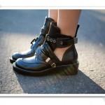 Cutout shoes Balenciaga