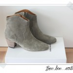 Dicker suede boots Isabel Marant