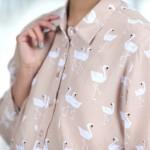 chemise-cygnes-asos-vernis-american-apparel