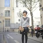 sweat-shirt-sandro-dentelles-paris-street-pochette-leo-short-cuir-vivienne-westwood-melissa-glitter-shoes-