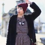 bonnet-beanie-bordeaux-burgundy-asos-robe-zara-alexa-mulberry-collier-HetM