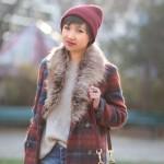 manteau-carreaux-la-redoute-beanie-asos-pull-beige-zara-short-moto-topshop-tokyobanhbao-blog-mode