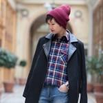 beanie-asos-chemise-carreaux-pop-boutique-jeans-la-redoute-boyfit-biker-coat-asos
