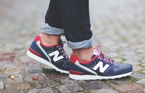 New Balance 996 Bleu Rouge