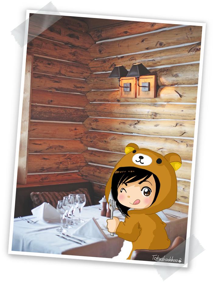 App tit d ours aux barmes le monde de tokyobanhbao blog - Restaurant vaise tout le monde a table ...