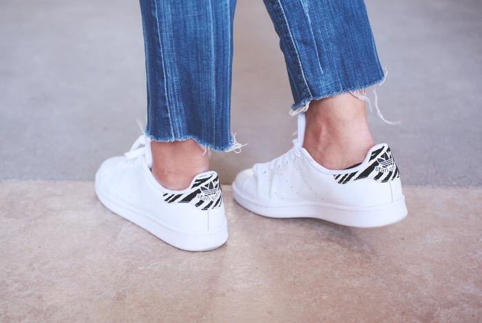 Adidas Stan Smith Femme Zebre