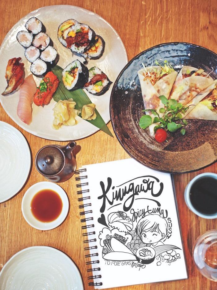 Kinugawa le monde de tokyobanhbao blog mode gourmand - Restaurant japonais paris cuisine devant vous ...